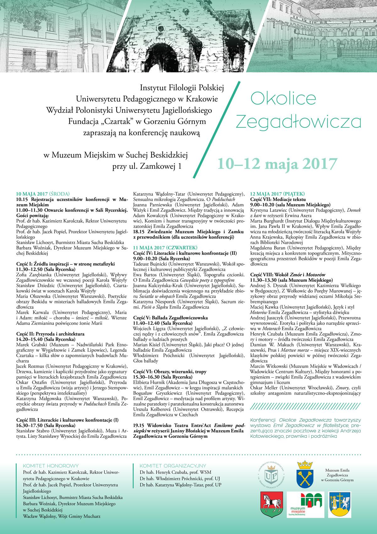 Konferencja Naukowa Okolice Zegadłowicza Uniwersytet